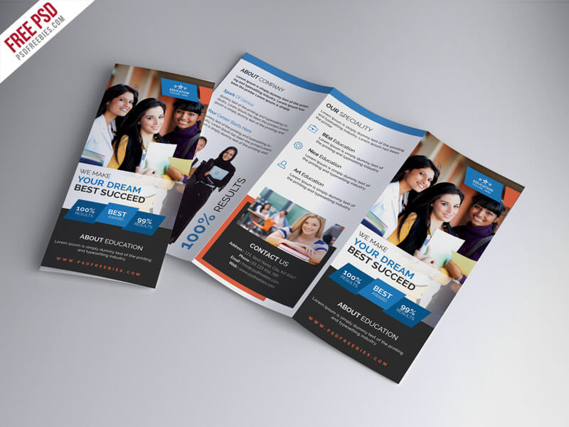 University Education – Free Tri-fold Brochure
