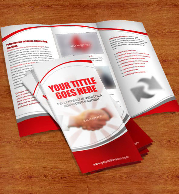 40 free professional tri fold brochures for business for 3 fold brochure template psd
