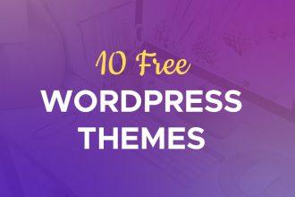 10 New Best Free WordPress Themes 2017