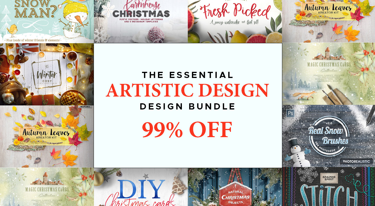 The Essential, Artistic Design Bundle