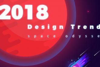 2018 Web Design Trends Predictions Infographics