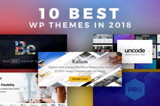 Take Your Pick of These 10 Best WordPress Themes in 2018