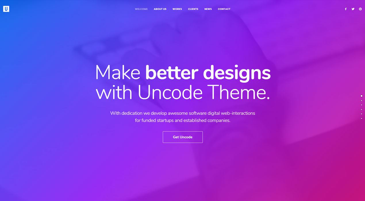 Uncode Theme: Showcase Your Creativity Through Visual Experiences
