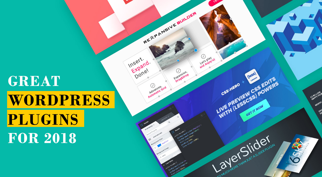 Check Out These Great WordPress Plugins To Use In 2018