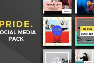 Pride Social Media Pack – Vol.1