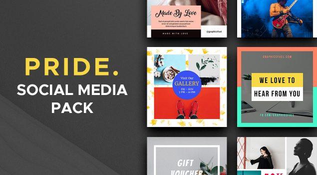 Pride Social Media Pack – Vol.1