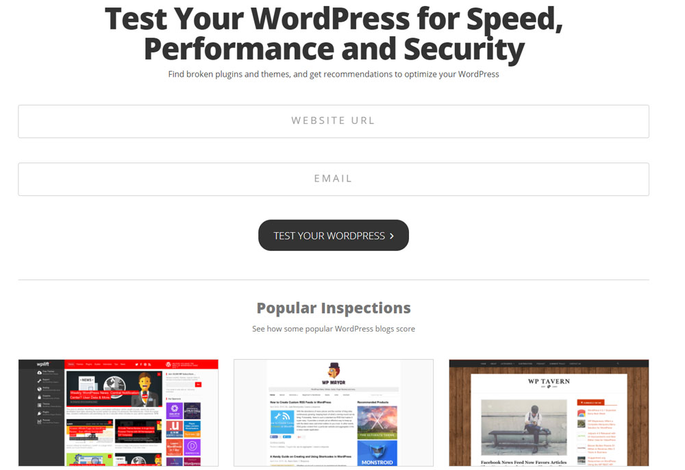 Wordpress Inspector