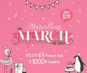 Marvellous March Bundle