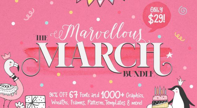 The Marvellous March Bundle