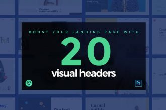 20 Visual Website Headers