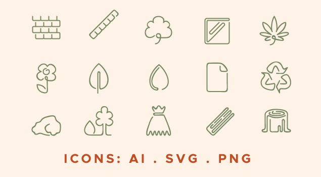 Green Sustainable Icons Pack