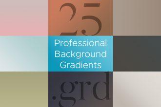 25 Professional Gradient Backgrounds