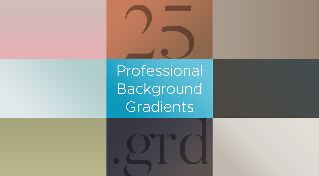 25 Professional Gradient Backgrounds