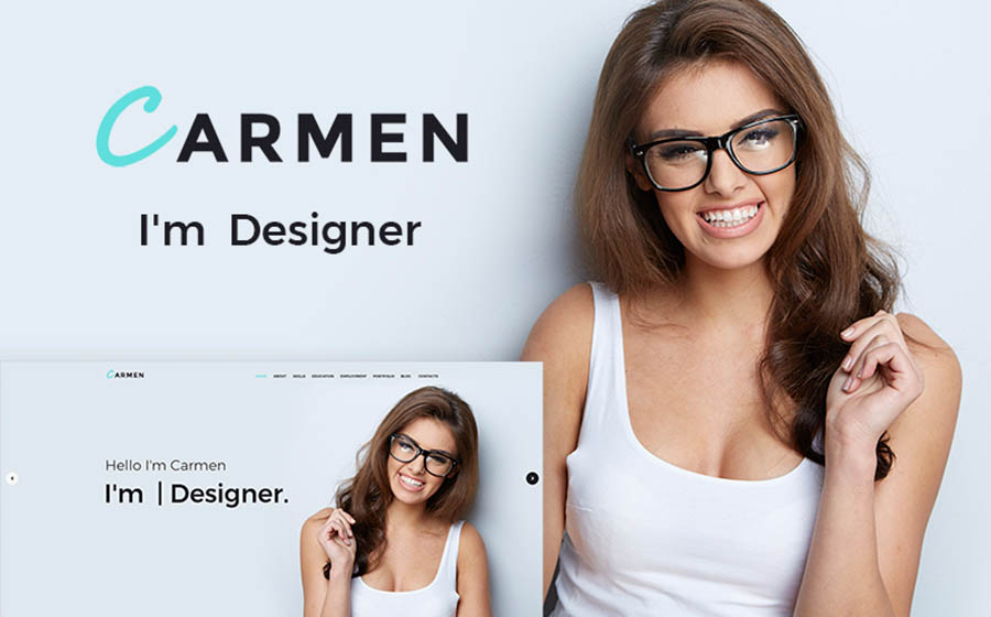 Carmen Design Portfolio WordPress Theme