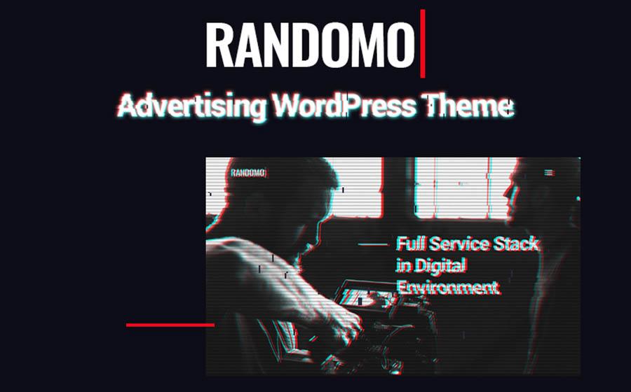 Randomo - Creative Management&Marketing Agency WordPress Theme