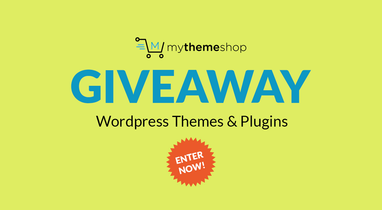 Giveaway: Win 3 Copies Of Premium WordPress Themes And Plugins From MyThemeShop