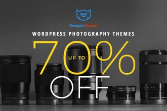 Wordpress Photography Themes - 70% Off