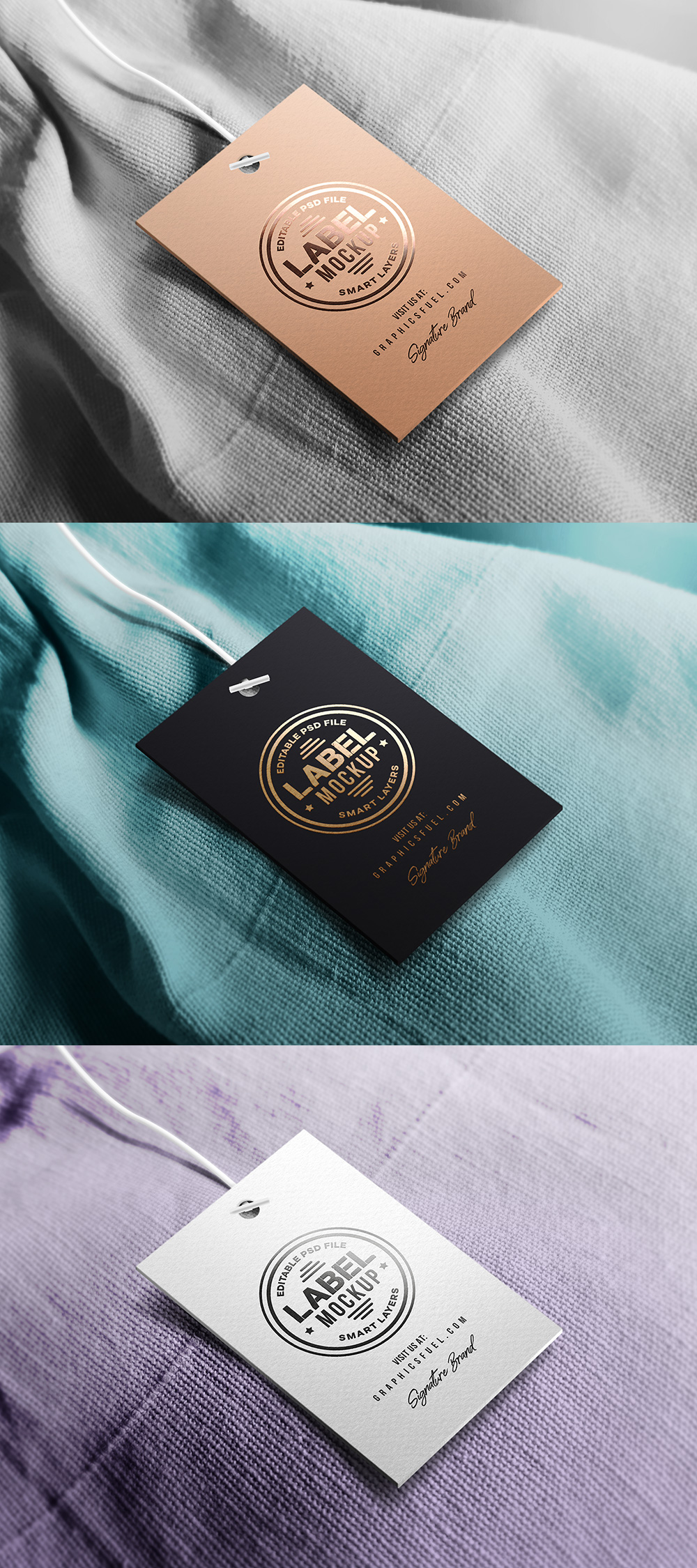 clothing tag label mockup graphicsfuel