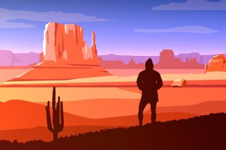 Dramatic Vector Landscapes For Premium Members