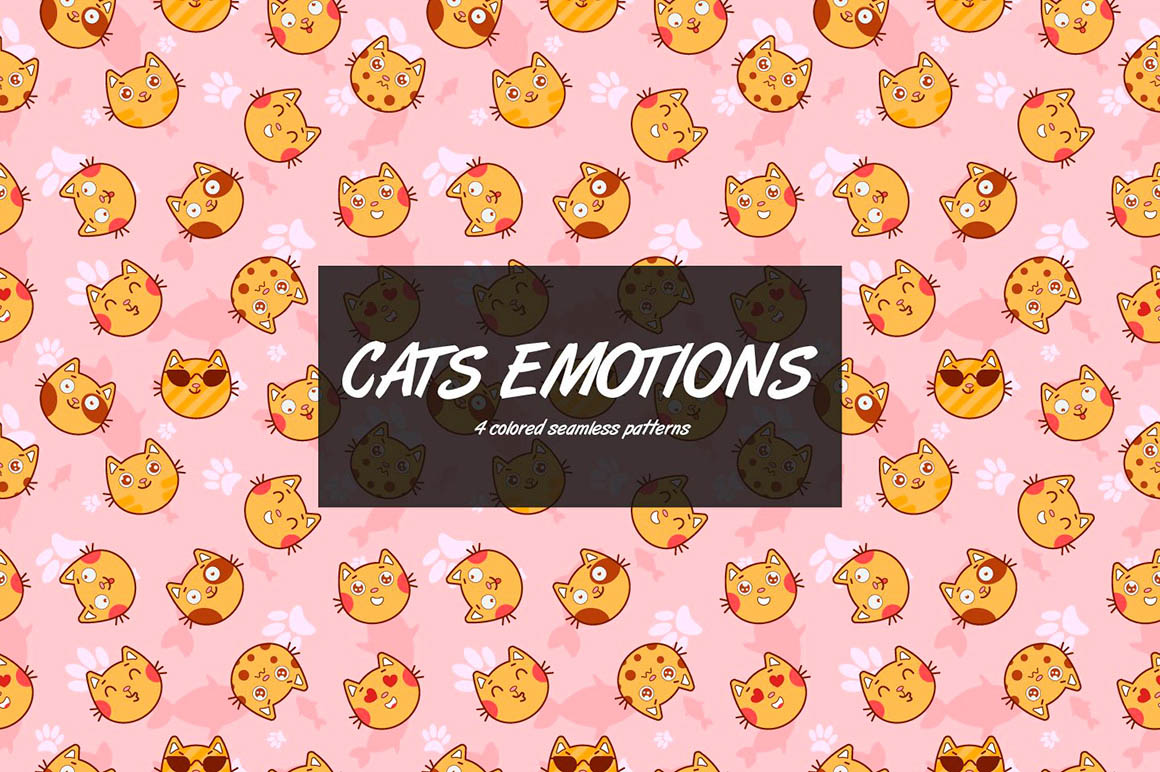 Cat Emotions Pattern