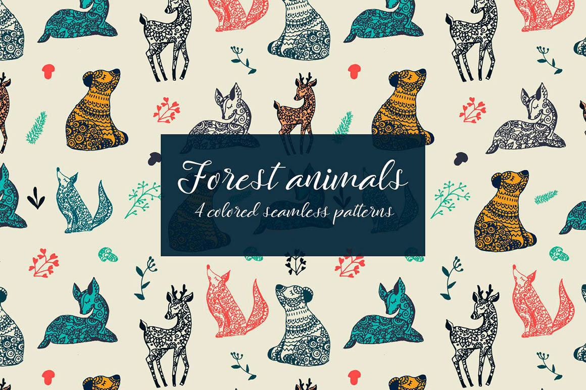 Forest Animals Patterns