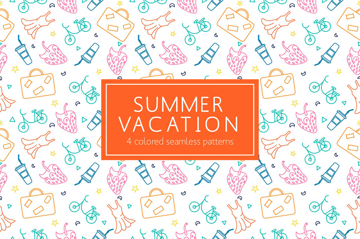 Summer Vacation Pattern