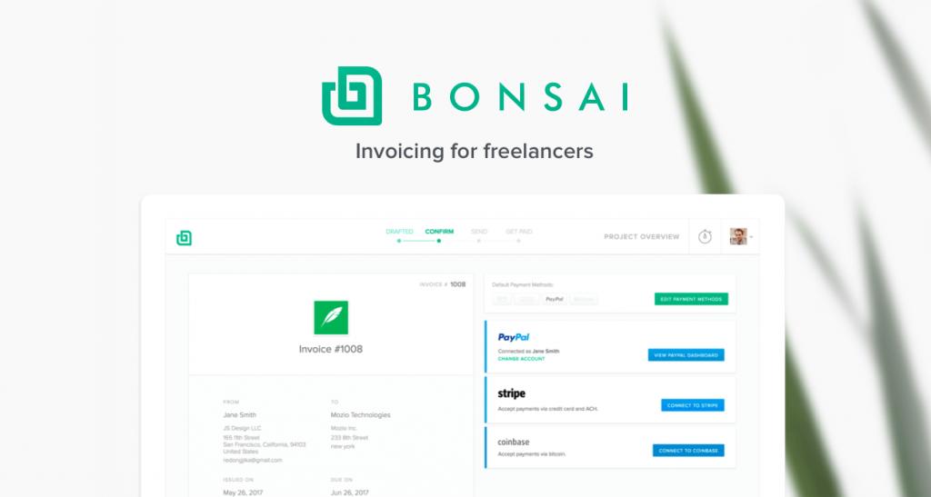 Bonsai - Freelance Invoice