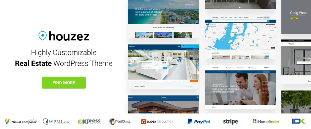 Houzez – Highly Customizable Real Estate WordPress Theme