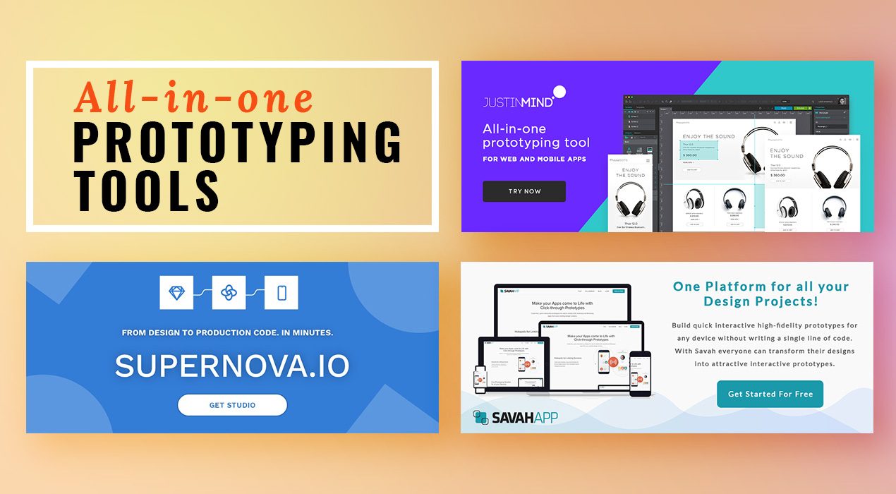 How many of these Prototyping Tools could make your work easier?