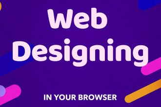 Web Designing From Your Browser
