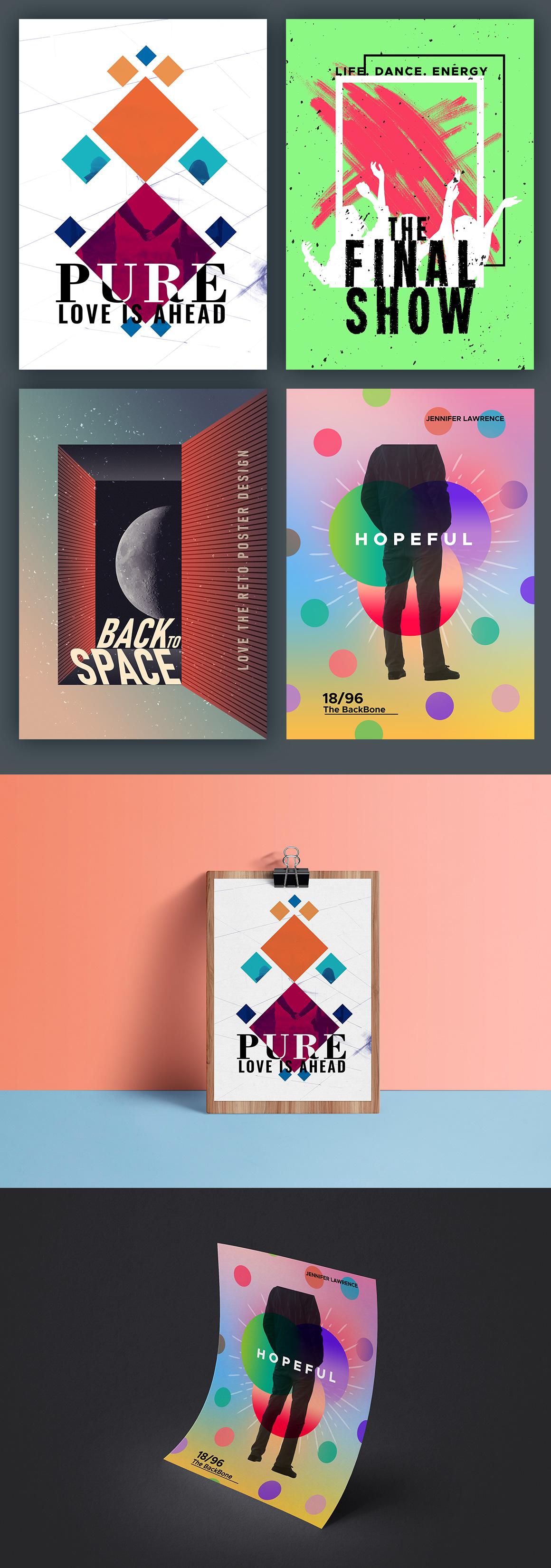 PSD Poster Designs