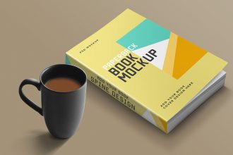 Book Mockup PSD Template