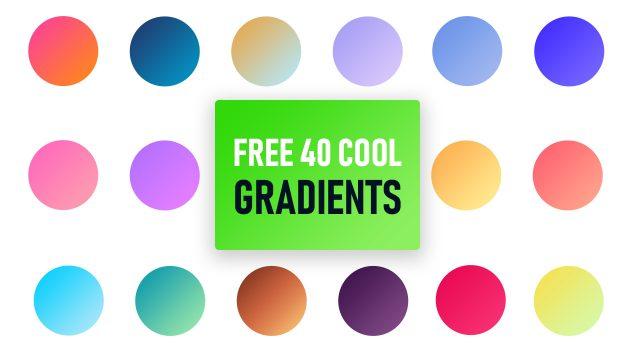 40 Free Cool Gradients