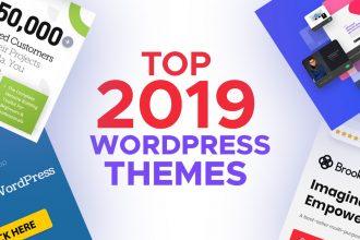 Top 2019 Wordpress Themes