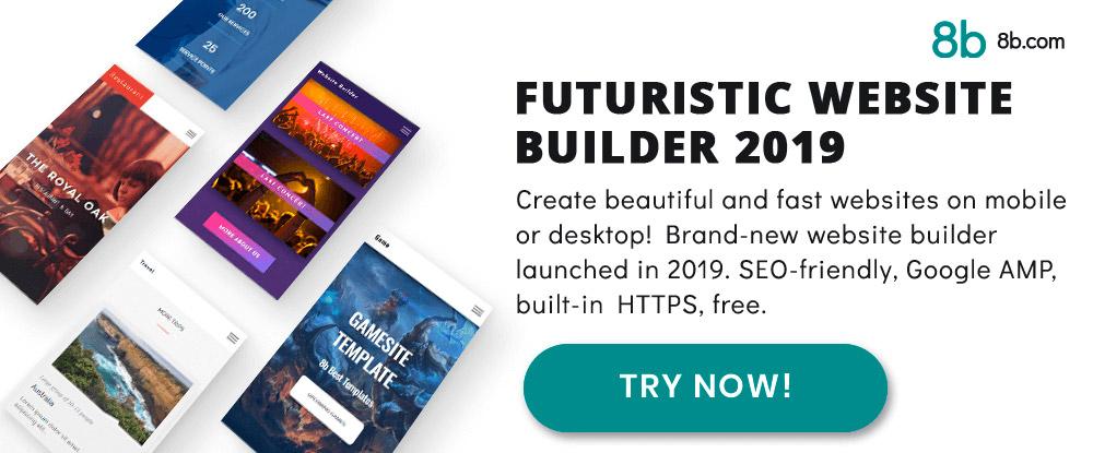 8b Website Builder