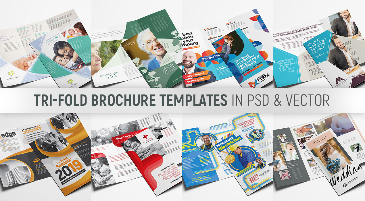 Tri-fold Brochure Templates Pack
