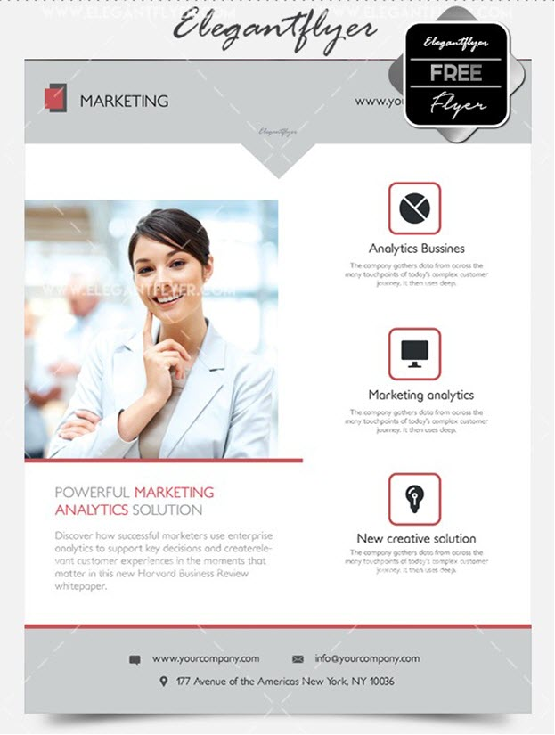 Marketing – Flyer PSD Template