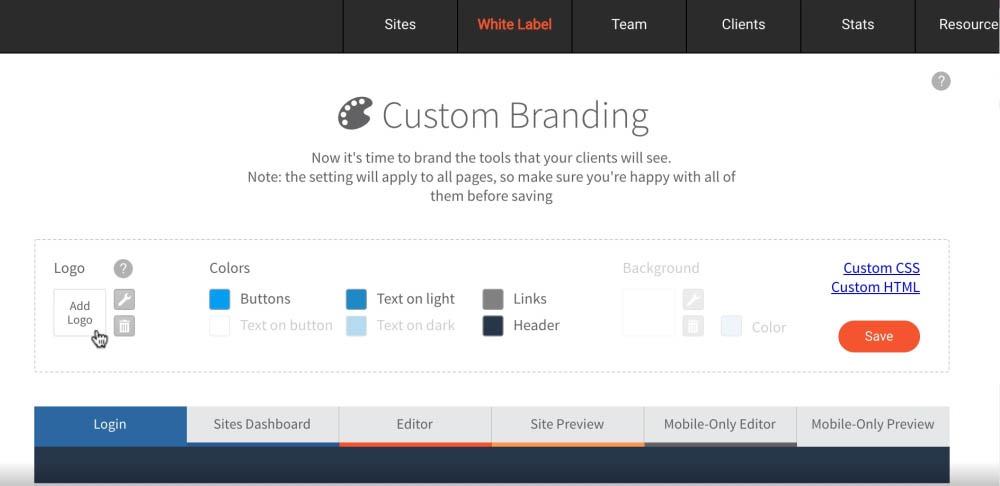 Duda - White Label Custom Branding