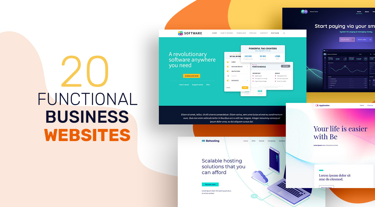 20 Functional Business Websites and What Makes Them Great
