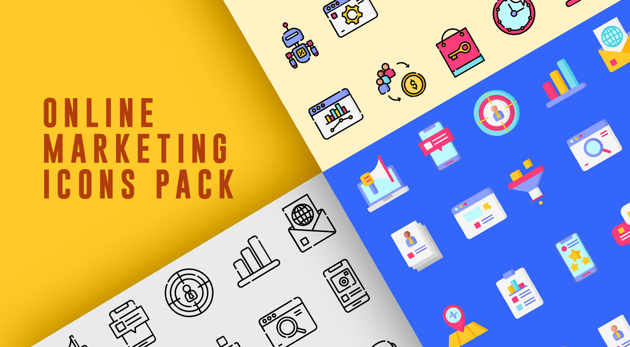Online Marketing Icons Pack