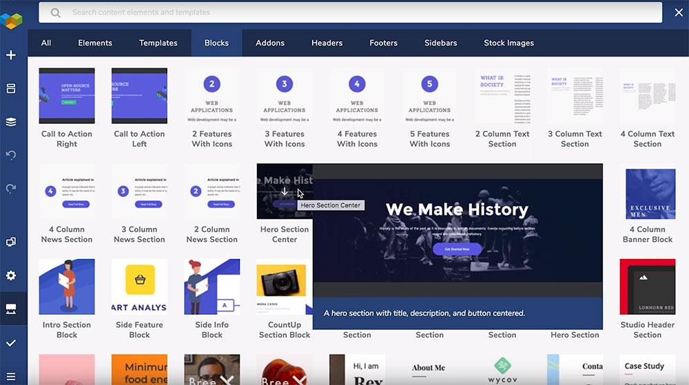 Wordpress Builder Dashboard