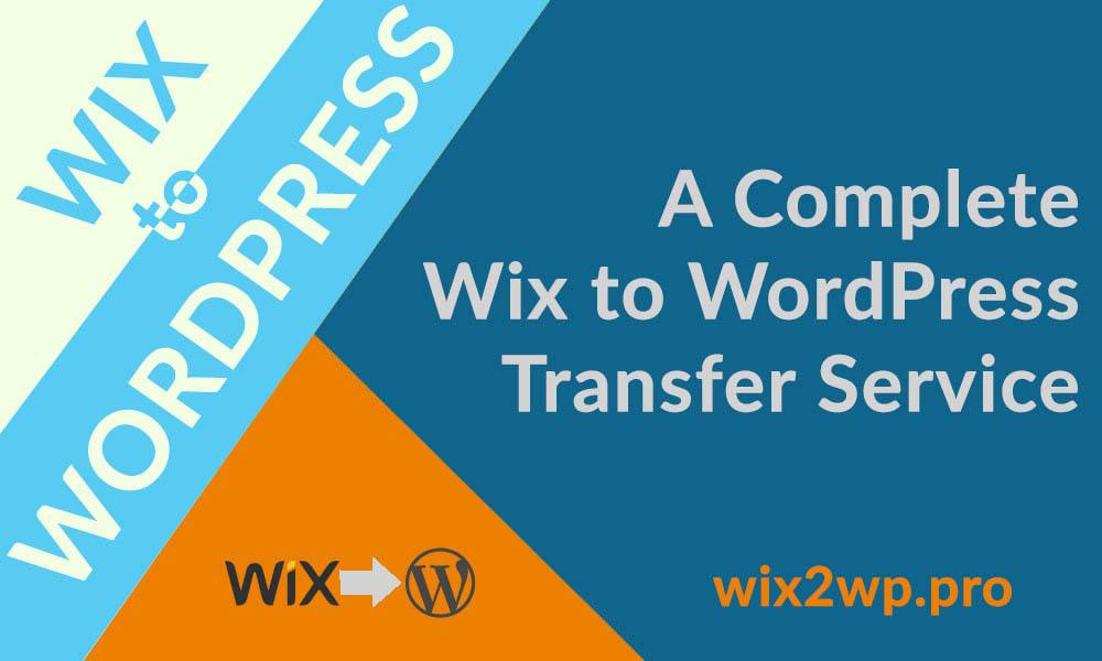 Wix2WP.Pro