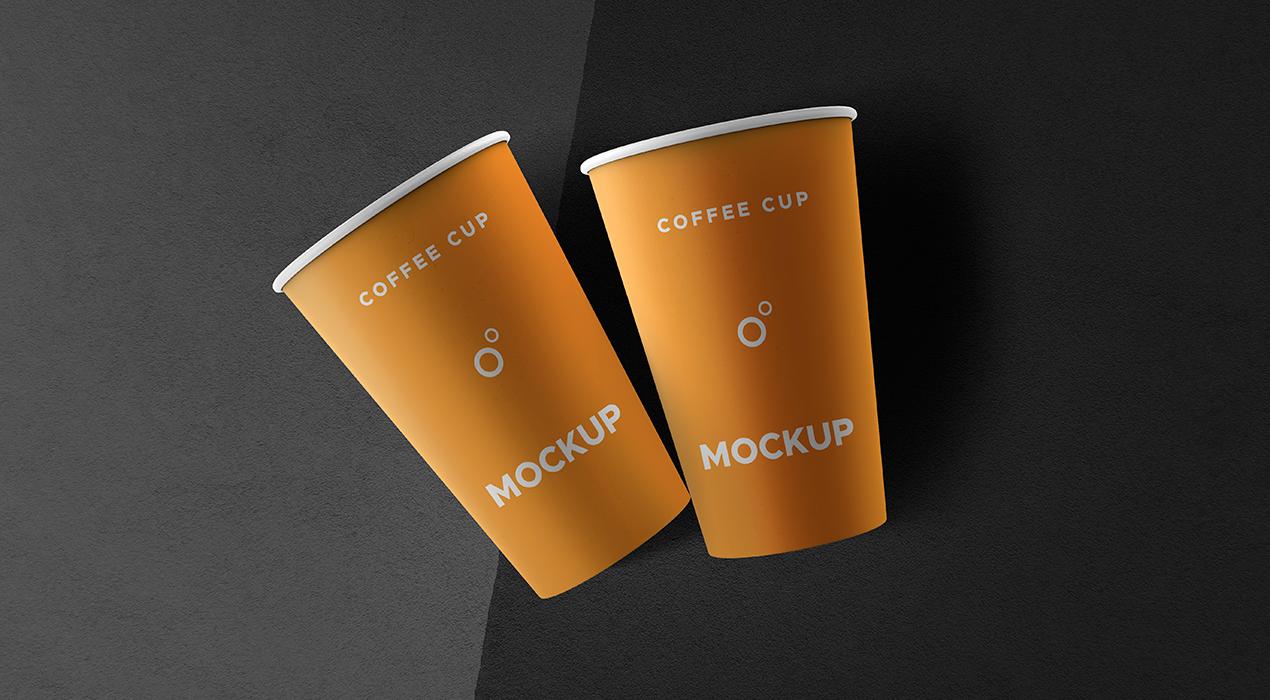 Coffee Cups Mockup