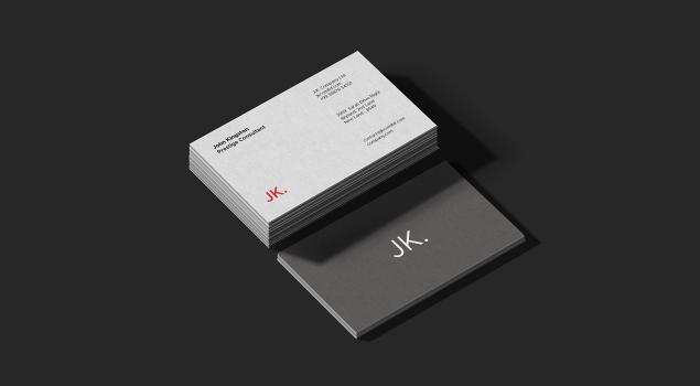 Premium Business Card PSD Mockups