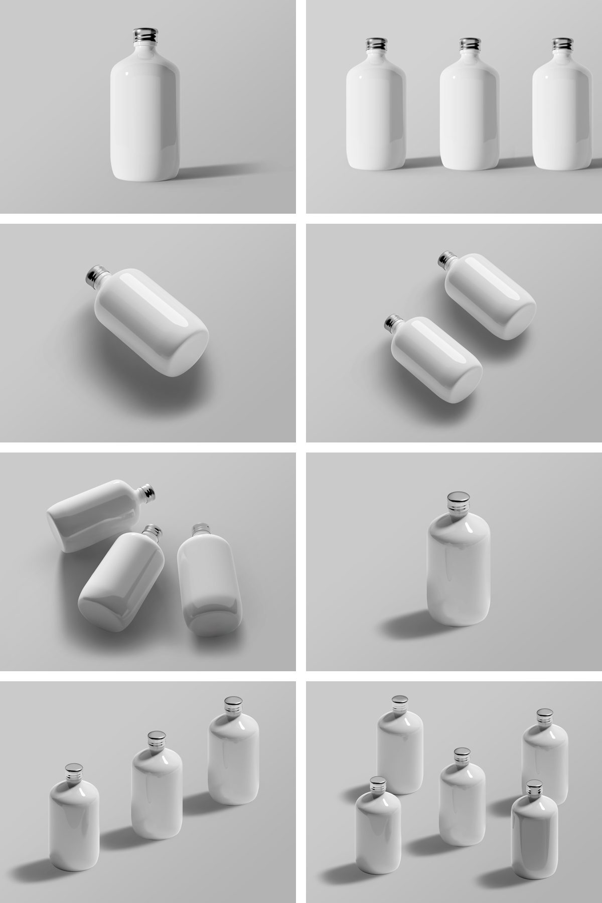 Bottle Mockup Templates