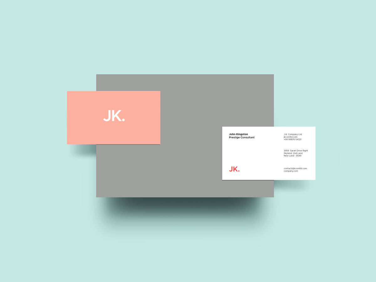 Business Card Mockup Scenes