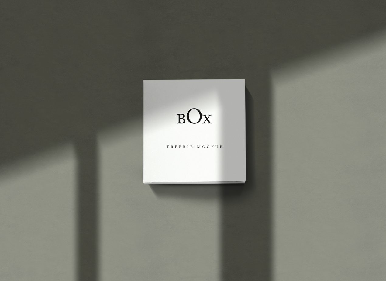 PSD Square Box Mockup
