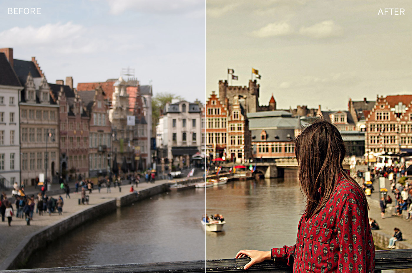 Free Golden Hour Photoshop Actions