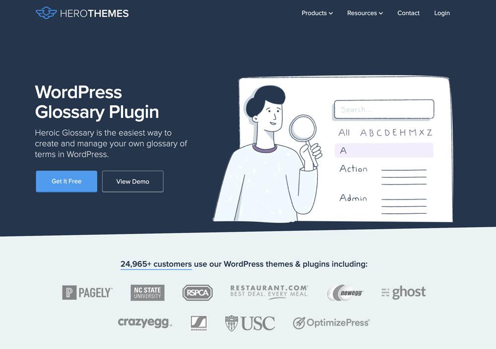 Heroic WordPress Glossary Plugin