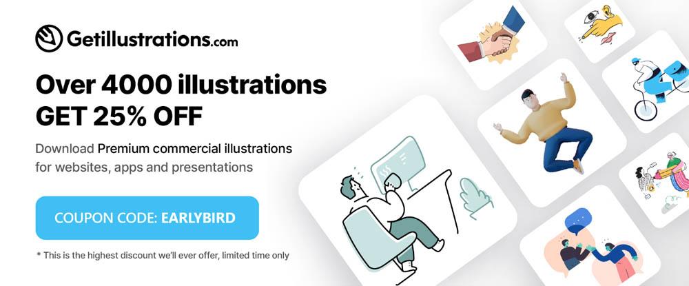 Get illustrations bundle